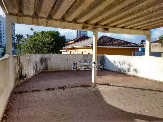 Sala Para Alugar, 80 M² Por R$ 2.000,00/mês - Encruzilhada - Santos/sp - Sa0021