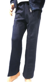 Pantalon-joggin Colegial Narin Azul Sin Friza Talle 4 Al 14