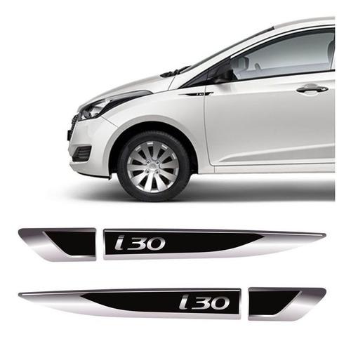 Imagem 1 de 4 de Aplique Lateral Hyundai I30 Emblema Resinado Do Para-lama