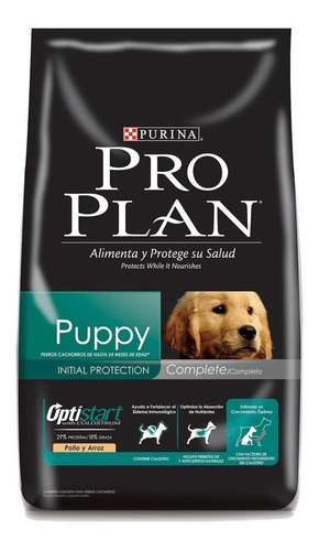 Imagen 1 de 1 de Alimento Pro Plan Complete Puppy para perro cachorro de raza mediana sabor pollo/arroz en bolsa de 3kg