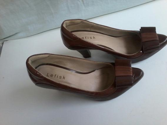 Sapato Social Lefisk-como Novo!