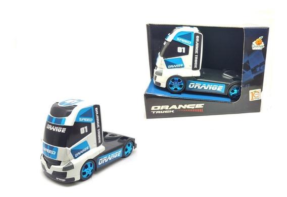 Caminhão Cavalinho Truck Orange Toys Brinquedo Carrinhos