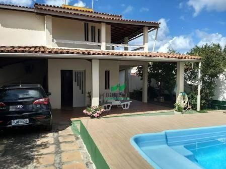 Casa Com 3 Dormitórios À Venda, 320 M² Por R$ 650.000,00 - Praia De Ipitanga - Lauro De Freitas/ba - Ca2622