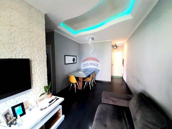 Apartamento 3 Dormitórios Com Moveis Planejados À Venda Centro - Suzano/sp - Ap0027