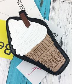 Bolsa Criativa Sorvete Ice Cream Couro Sintético Pu