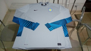 Camisa Goleiro Manga Longa Nike Aston Villa Inglaterra