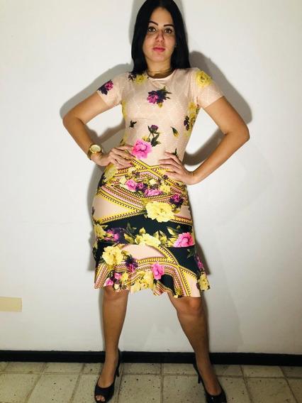 Vestido Evangélico Babado Suplex 5 Peças Frete Grátis