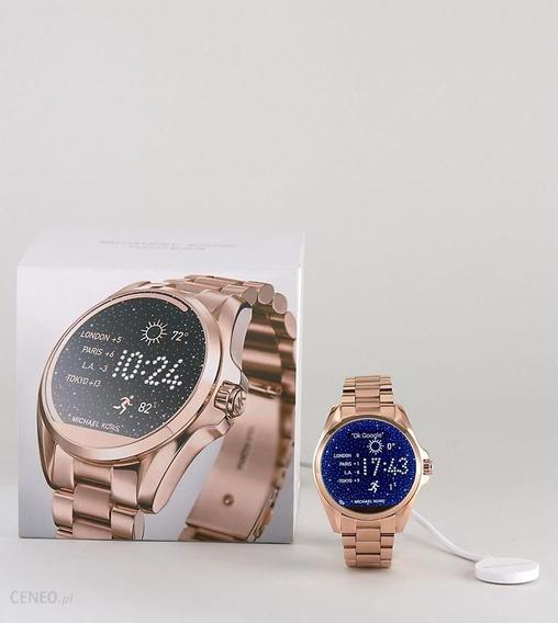 Relógio Michael Kors Smart Mkt5004 Rose Gold - Lacrado!
