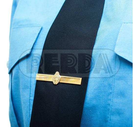 Sujetador Traba Corbata Con Escudo Nacional Rerda