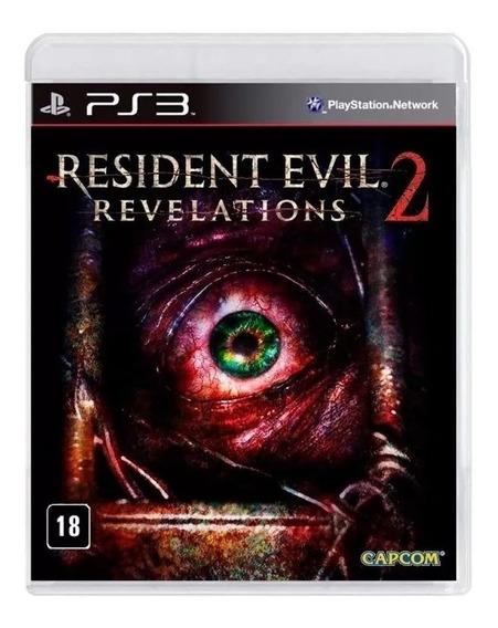 Resident Evil Revelations 2 Ps3 Mídia Física Novo Nacional