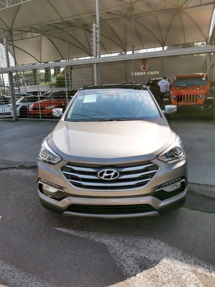 Hyundai Santa Fe 2.0 Sport At 2018 Gris.