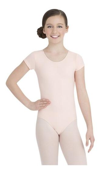 Ballet Mallas Para Niñas Capezio Salmón Oferta!!!