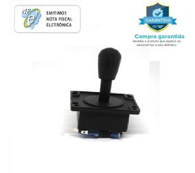 Manete Comando Joystick Fliperama Arcade - 6 Peças