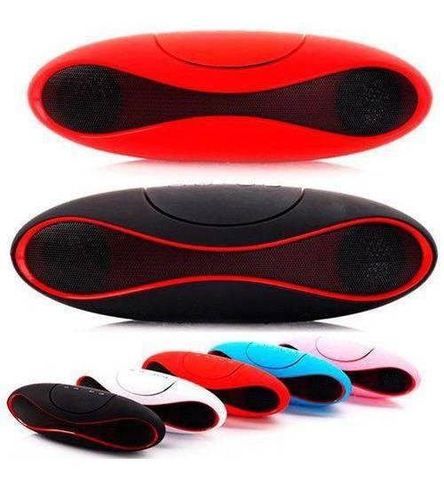 Mini Caixa De Som 3w Rms Com Bluetooth X-6 - Cor Preta
