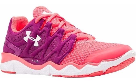 Tenis Under Armour Optimum Micro G Purple Pink - Dama