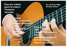 Clases De Guitarra. Dominio General.