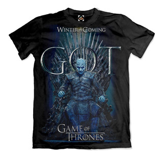 Camiseta Game Of Thrones White Walker Winter Is Coming 0018