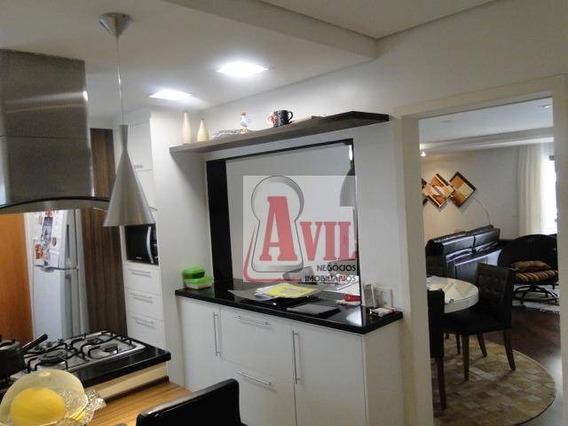 Sofisticado Apartamento Residencial À Venda, Tatuapé, São Paulo, 3 Suítes. - Ap0135
