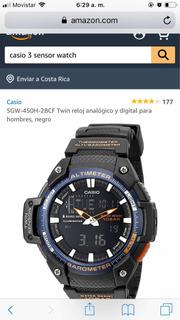 Reloj Casio Triple Sensor