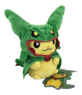 Peluche Pikachu Rayquaza Pokemon Nintendo Game Freak
