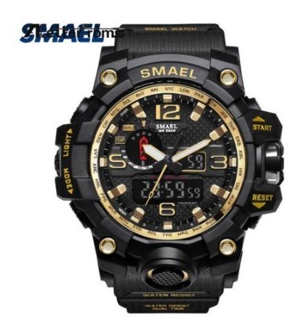 Relógios Smael Esportivo Original - Dourado