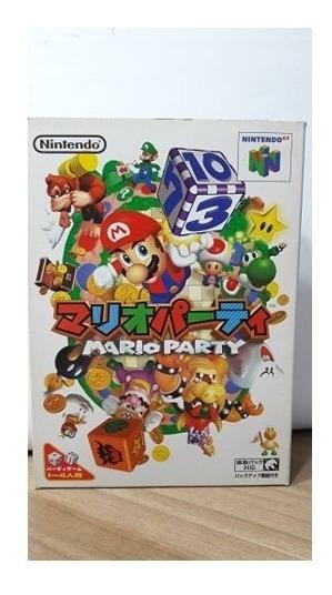 Mario Party Nintendo 64 Japonês Na Caixa