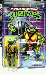 Tmnt Leonardo Reaction Marca Super 7