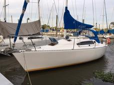 Barco Velero Del Plata 31 Con Volvo 20 Hp - Excelente Estado