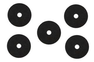 Discos Pad De Fibra Para Pulidora 20 Pulgadas Negro 5 Piezas