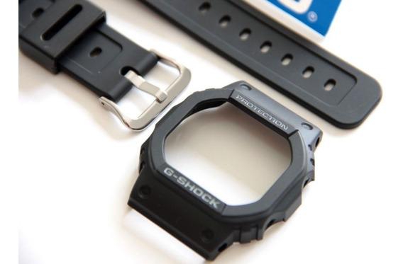 Pulseira + Bezel G-5600e-1 Casio G-shock - Peças Originais