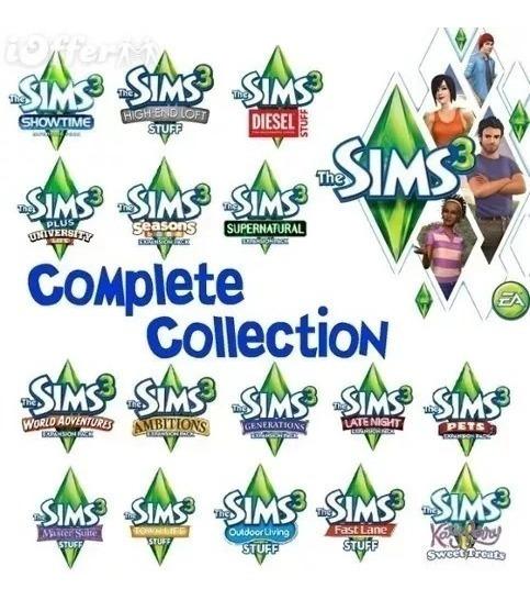 The Sims 3 Completo Todas Expansões Envio Digital Online !!