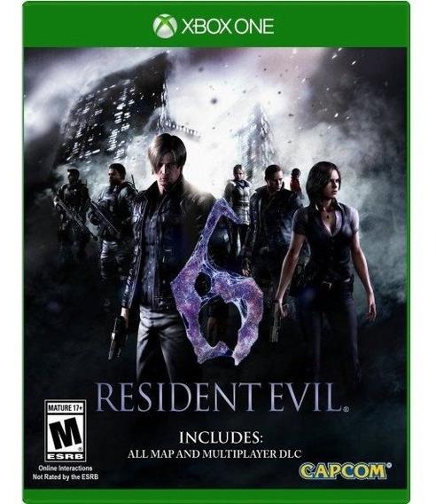 Jogo Xbox One Resident Evil 6 Mídia Física E Original !