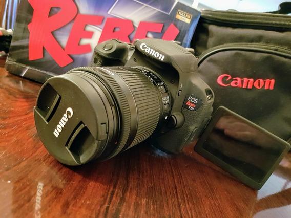 Camera Canon T5i Rebel Dslr Profissional