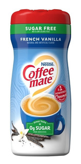 Coffee Mate French Vanilla - Sugar Free - 289 Gramas