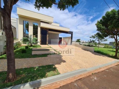 Casa Com 3 Dormitórios À Venda, 149 M² Por R$ 790.000,00 - Jardim Cybelli - Ribeirão Preto/sp - Ca2911