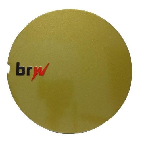Calota Miolo De Roda Big Brw-890 Brw890 Aranha Dourada Aro17