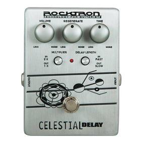 Pedal De Efeitos Rocktron Celestial Delay Para Guitarra