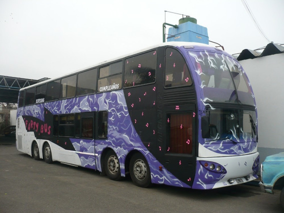 Colectivo 2 Pisos Reformado Como Party Bus Con Trabajo