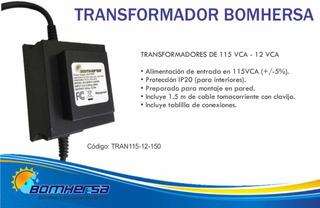 Transformador Para Lámpara Led 150 W - Marca Bomhersa