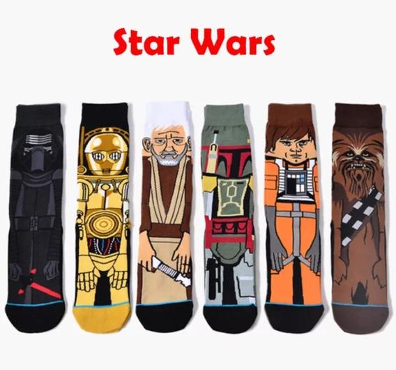 Star Wars Happy Socks Calcetines 6 Pares En Uno/ Gran Ofert