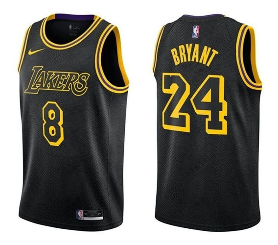 Jersey Kobe Bryant Negro Lakers | MercadoLibre.com.mx