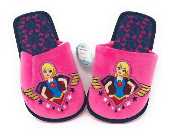 Pantuflas De Super Girl Original