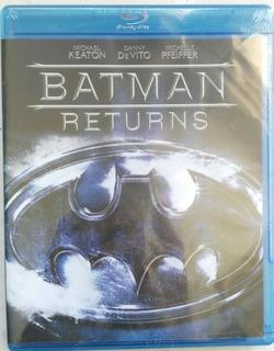 Batman Regresa Blu Ray Película Tim Burton Nuevo