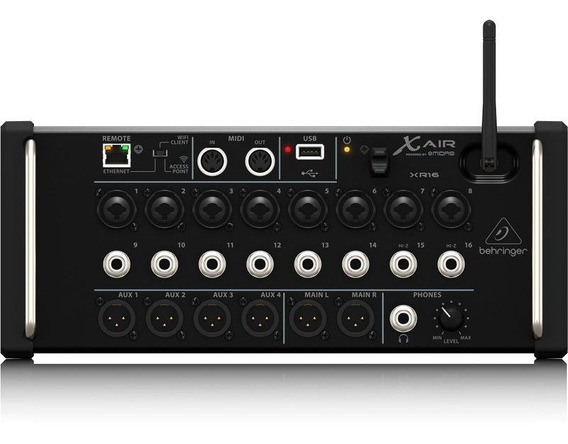 Mixer Dig. X-air Xr16 Ios/pc/android 16in/6out Behringer