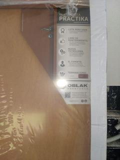 Puerta Oblak Practika Curupí (90cm Tabique 10)mano Izq Nueva