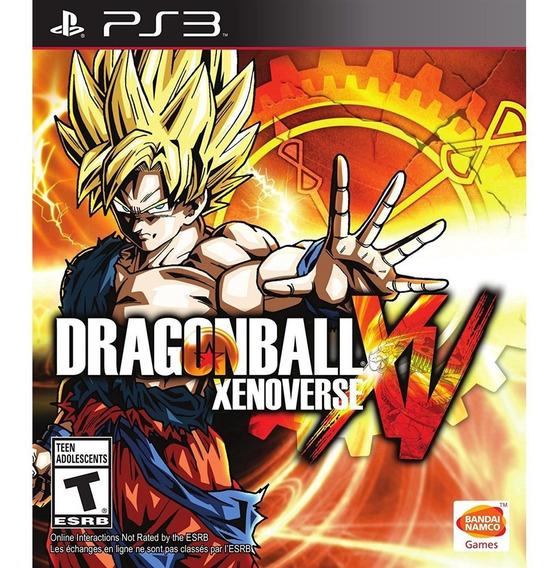 Dragon Ball Xenoverse Ps3 Mídia Física Lacrado