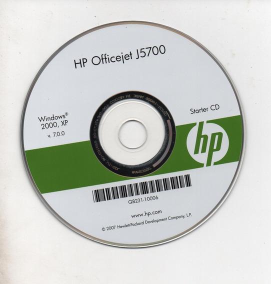 Cd - Instalação Impres. Hp Officejet J5700 - Frete Grátis