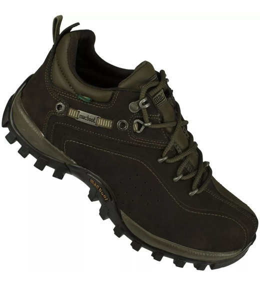 Macboot Guar01 Bota Adventure Cano Baixo Couro Guarani 01