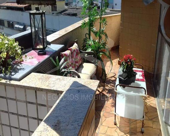 Cobertura Duplex Na Rua Presidente Domiciano - Co00093 - 32937322