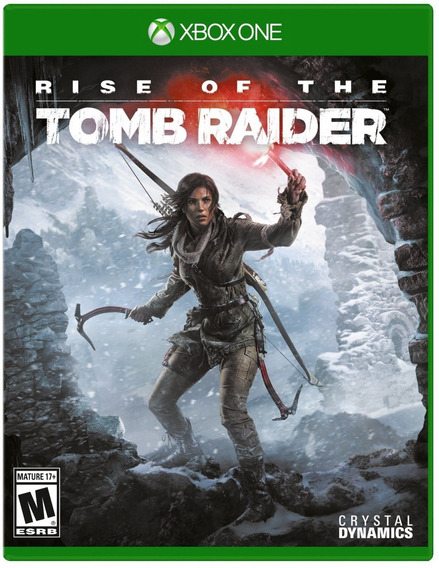 Jogo Rise Of The Tomb Raider Xbox One Mídia Física Frete 12